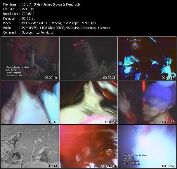 L.A. Style video screenshot
