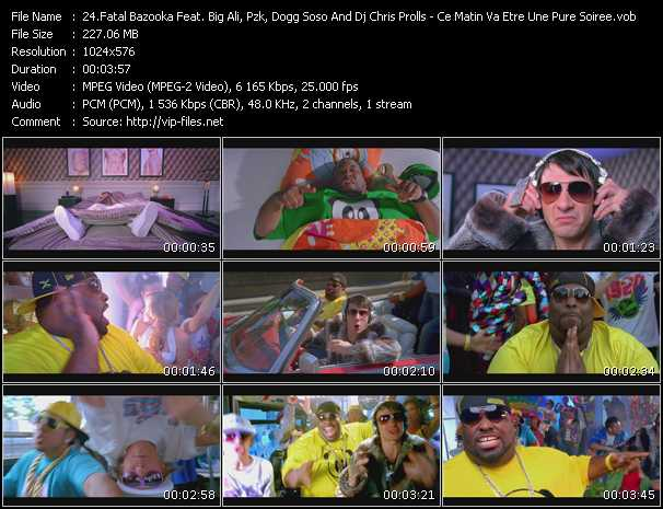 Fatal Bazooka Feat. Big Ali, Pzk, Dogg Soso And Dj Chris Prolls video screenshot