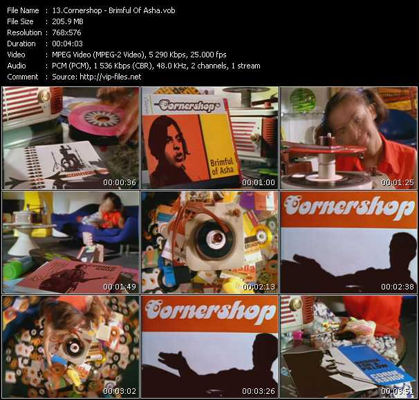Cornershop video screenshot