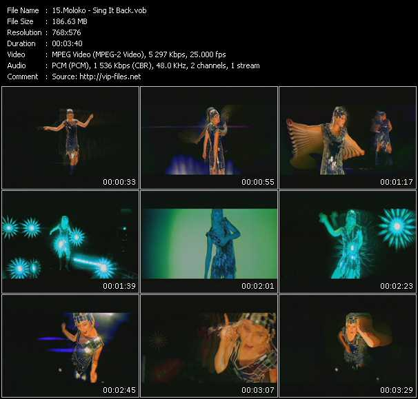 Moloko video screenshot