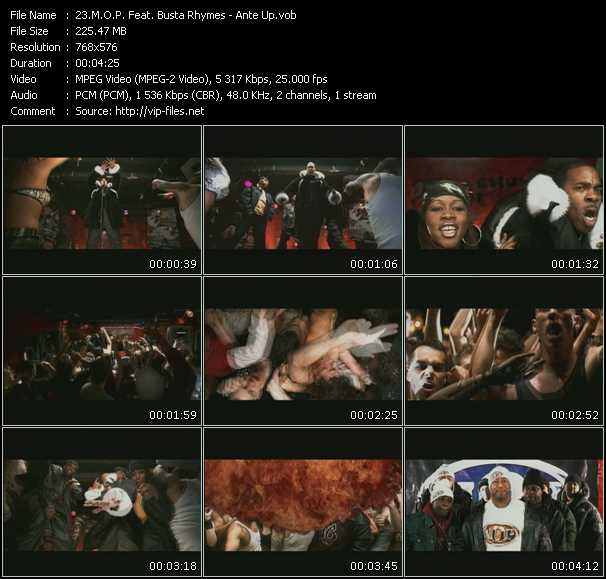 M.O.P. Feat. Busta Rhymes video screenshot