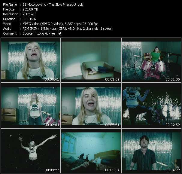 Motorpsycho video screenshot