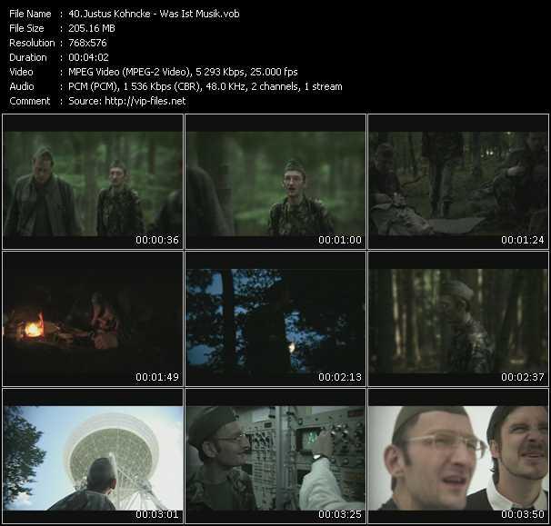 Justus Kohncke video screenshot