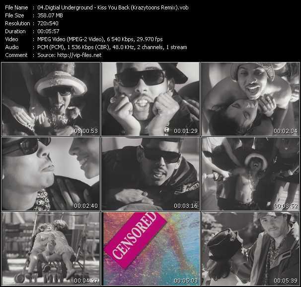 video Kiss You Back (Krazytoons Remix) screen
