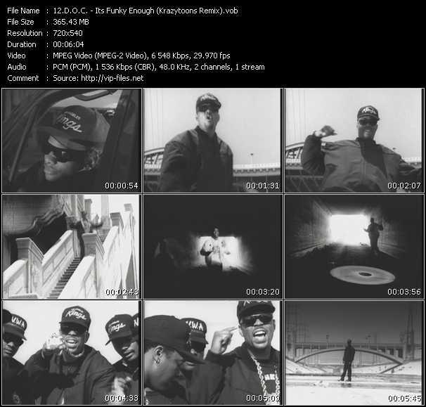 D.O.C. video screenshot