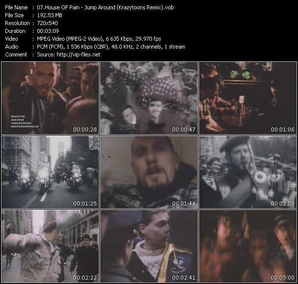 video Jump Around (Krazytoons Remix) screen