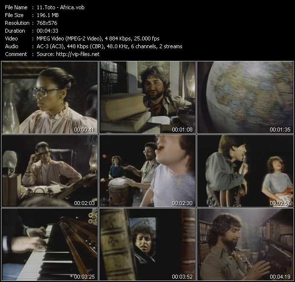 Toto video screenshot