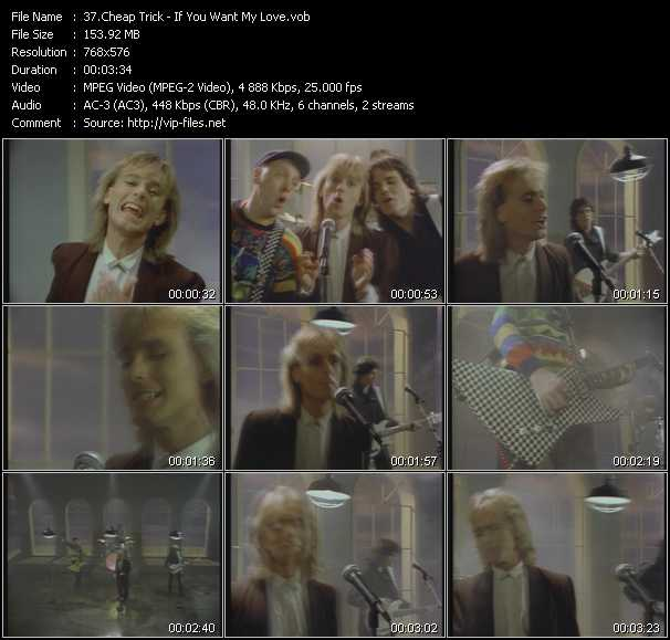 Cheap Trick video screenshot