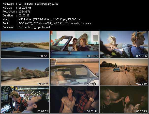 Tim Berg video screenshot