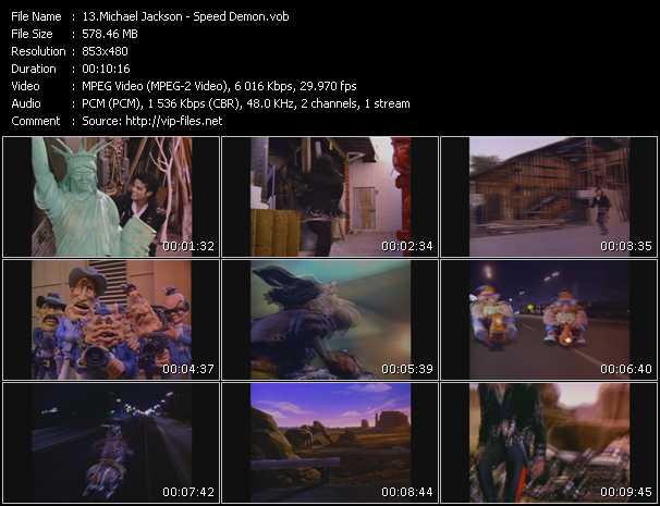 video Speed Demon screen