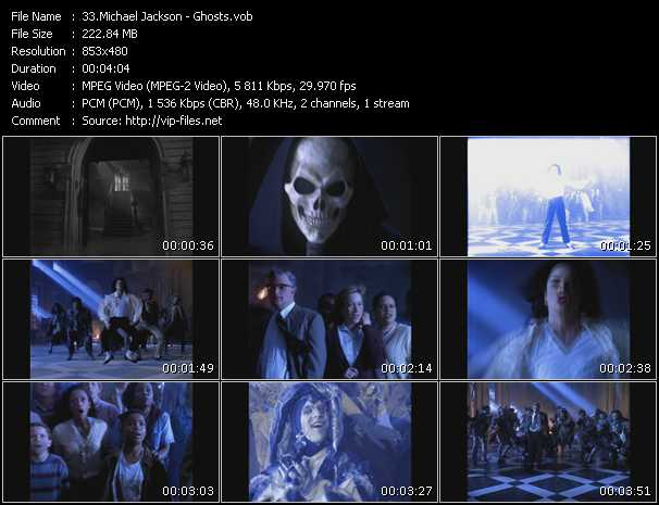 video Ghosts screen