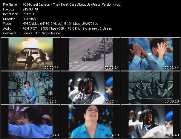 video They Don't Care About Us (Prison Version) screen