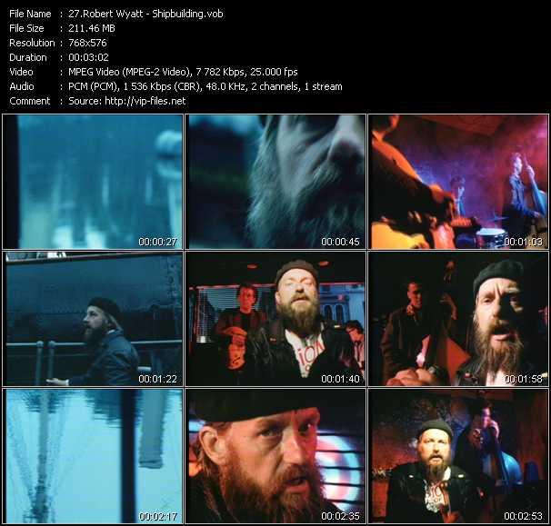 Robert Wyatt video screenshot