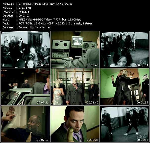Tom Novy Feat. Lima video screenshot