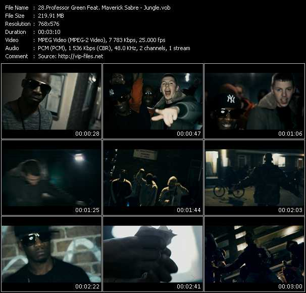 Professor Green Feat. Maverick Sabre video screenshot