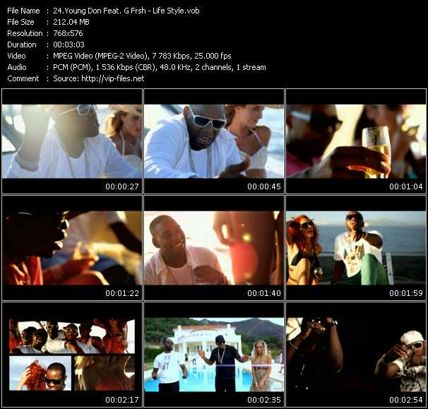 Young Don Feat. G Frsh video screenshot