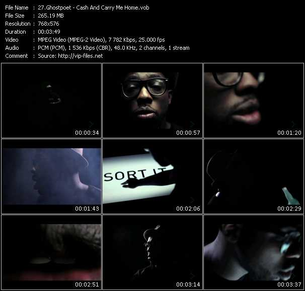 Ghostpoet video screenshot