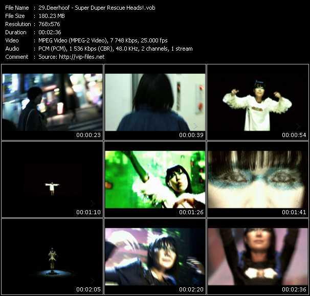 Deerhoof video screenshot