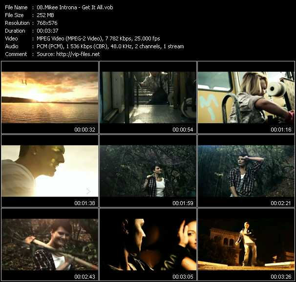 Mikee Introna video screenshot