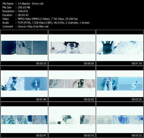 Alpines video screenshot