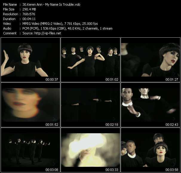 Keren Ann video screenshot