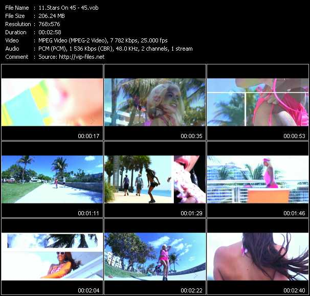 Stars On 45 video screenshot