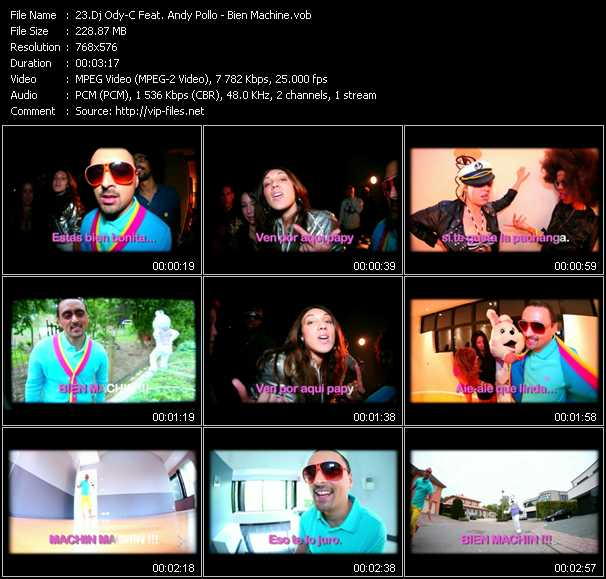 Dj Ody-C Feat. Andy Pollo video screenshot