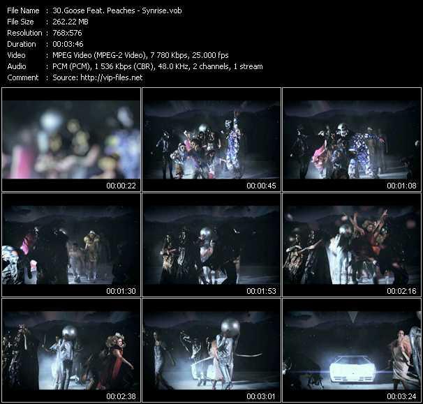 Goose Feat. Peaches video screenshot