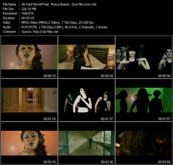 Paul Morrell Feat. Mutya Buena video screenshot