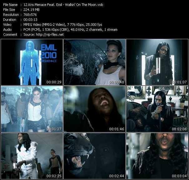 Kris Menace Feat. Emil video screenshot