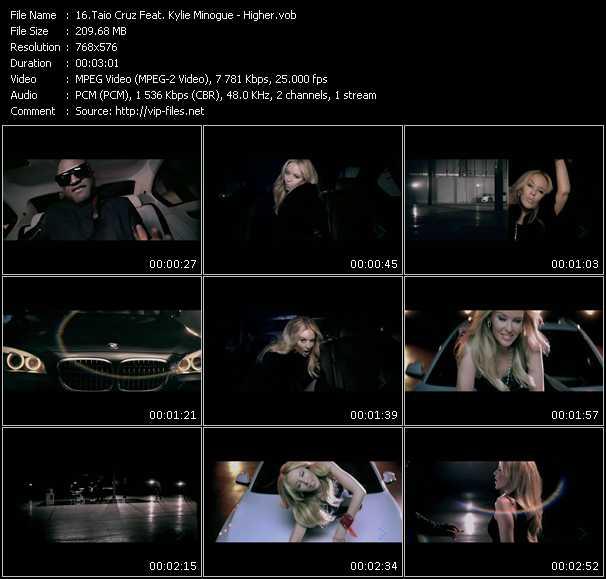 Taio Cruz Feat. Kylie Minogue video screenshot