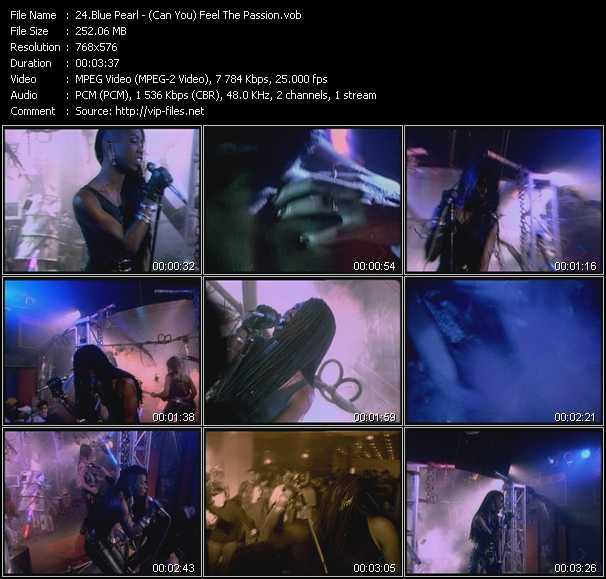 Blue Pearl video screenshot
