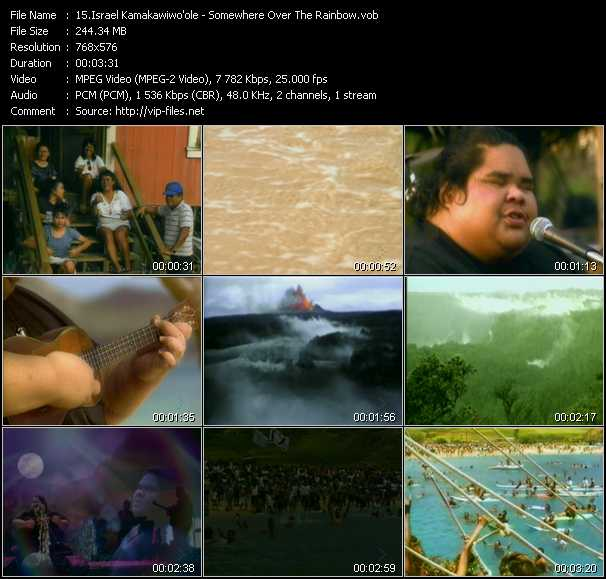 Israel Kamakawiwo'ole video screenshot