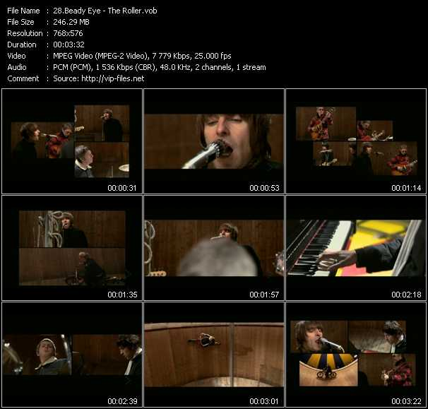 Beady Eye video screenshot