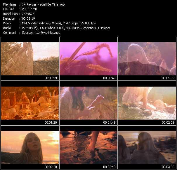 Pierces video screenshot