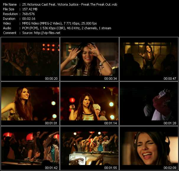 Victorious Cast Feat. Victoria Justice video screenshot