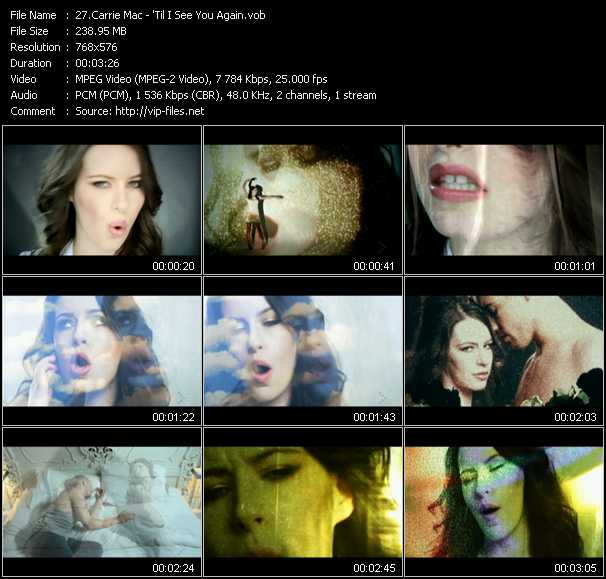 Carrie Mac video screenshot