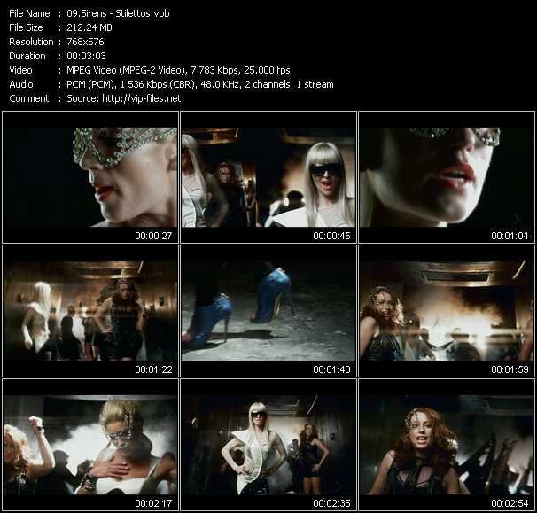 Sirens video screenshot