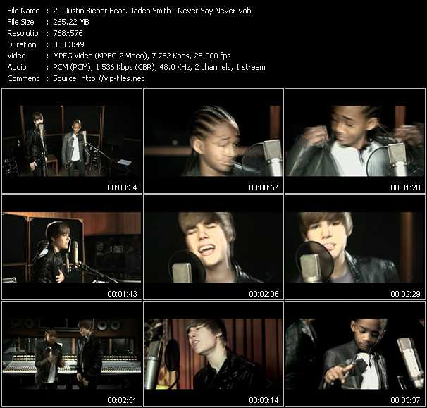 Justin Bieber Feat. Jaden Smith video screenshot