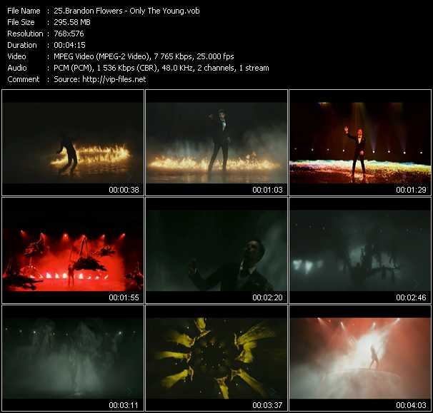 Brandon Flowers video screenshot