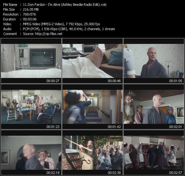 Don Fardon video screenshot