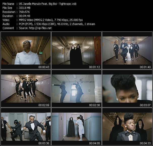 Janelle Monae Feat. Big Boi video screenshot