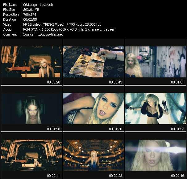 video Lost screen