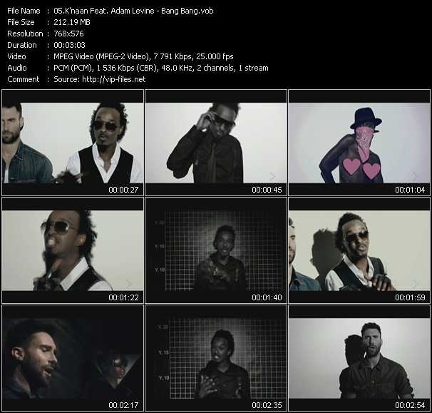 K'naan Feat. Adam Levine video screenshot