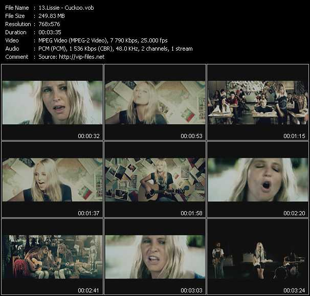 Lissie video screenshot
