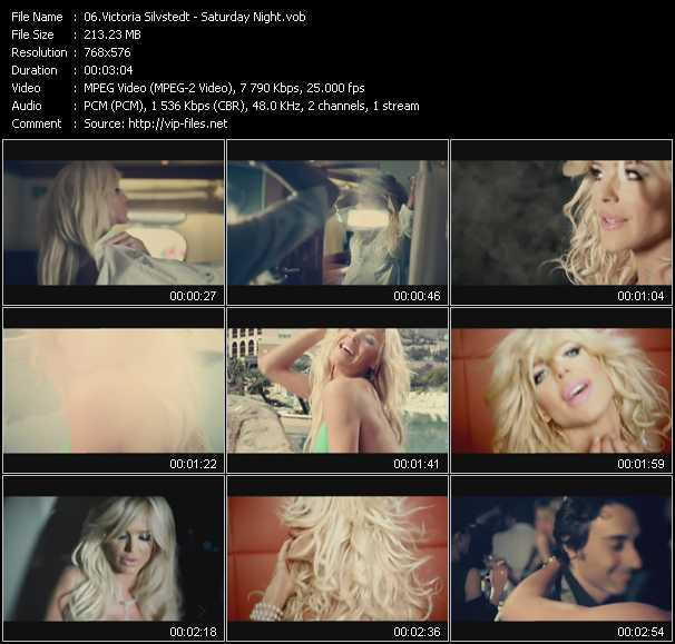 Victoria Silvstedt video screenshot