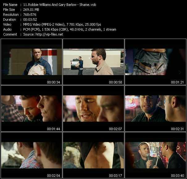Robbie Williams And Gary Barlow video screenshot