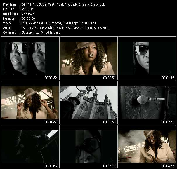 Milk And Sugar Feat. Ayak And Lady Chann video screenshot