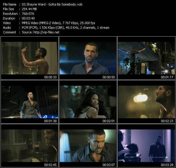 Shayne Ward video screenshot