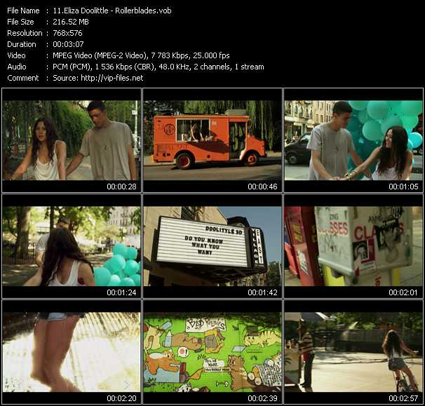 video Rollerblades screen